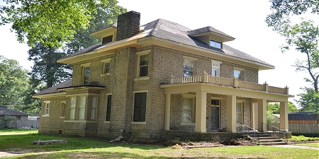 Ogan House, Wynne, Arkansas (photo courtesy Arkansas Historic Preservation Program)